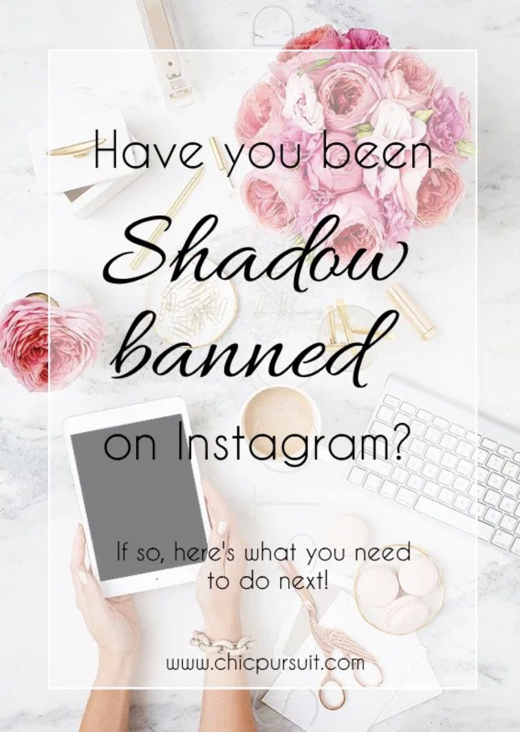 Are you shadow banned on Instagram? This is how to know!