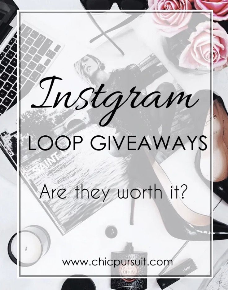 Instagram Loop Giveaways – Are They Worth It?