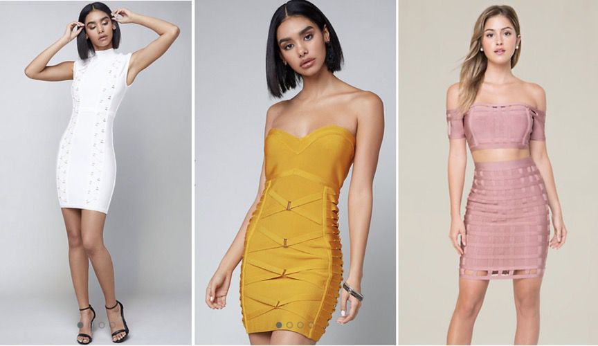 Brands and dresses like House of CB