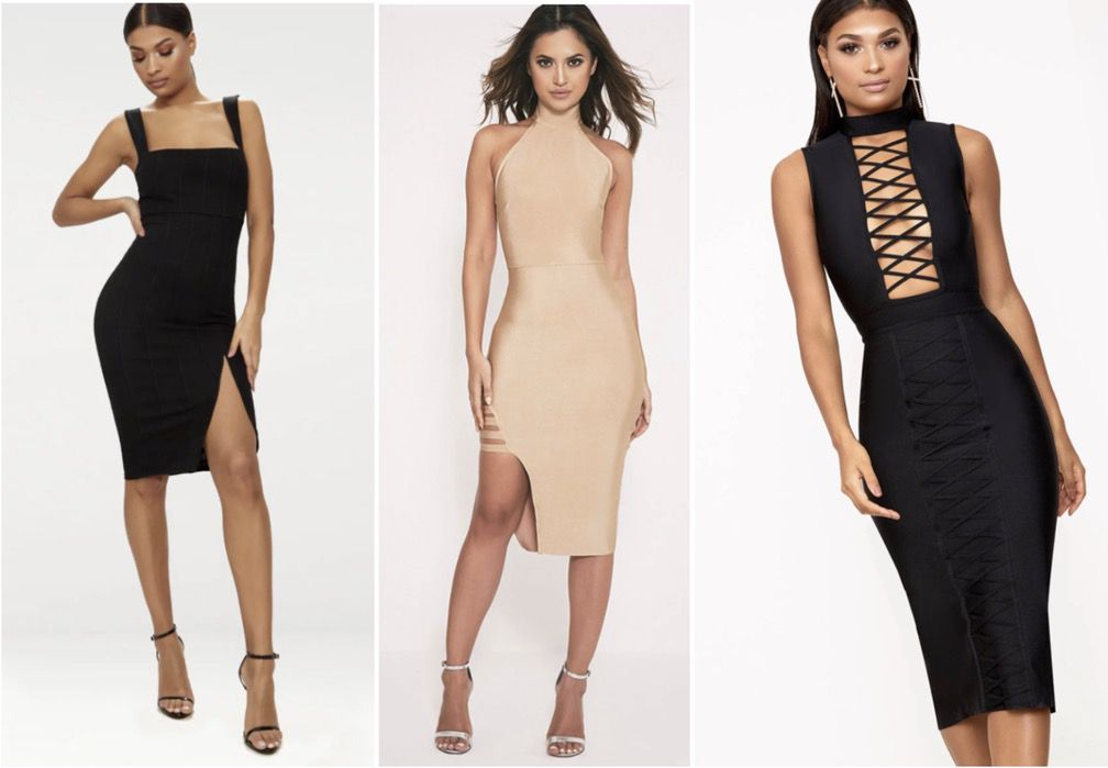 affordable bandage dresses bodycon / bodycon dress outfit ideas