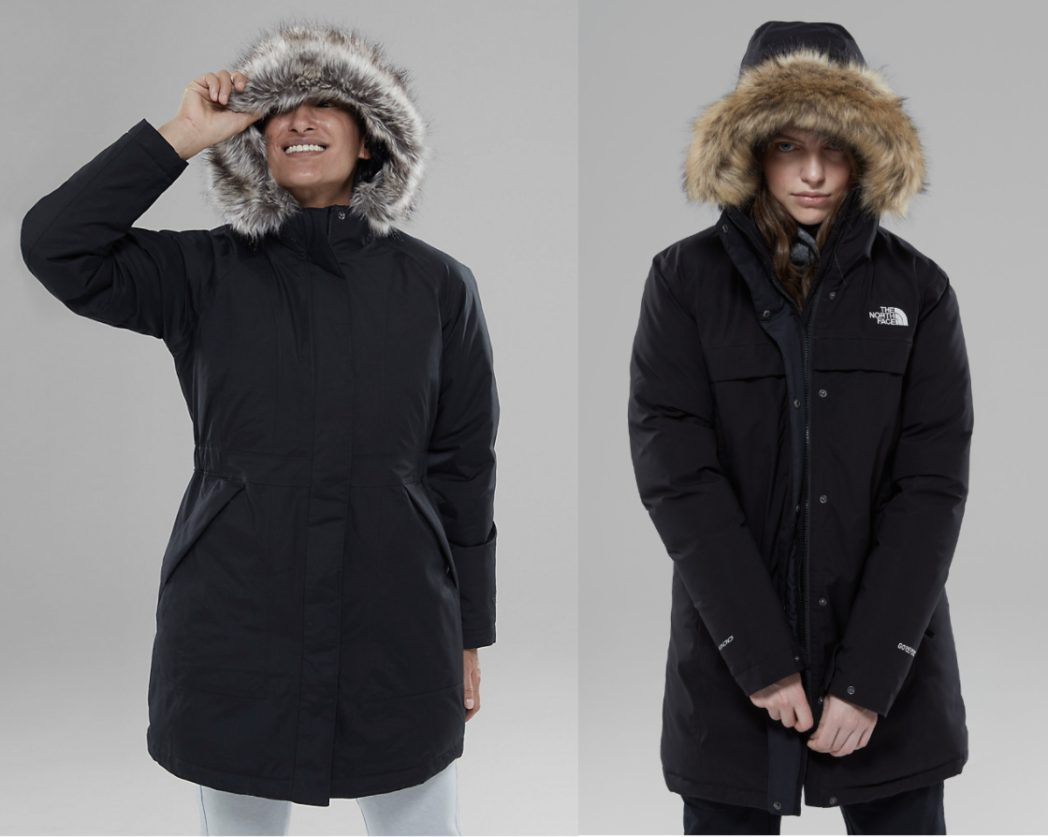 Brands like Canada Goose - the north face
