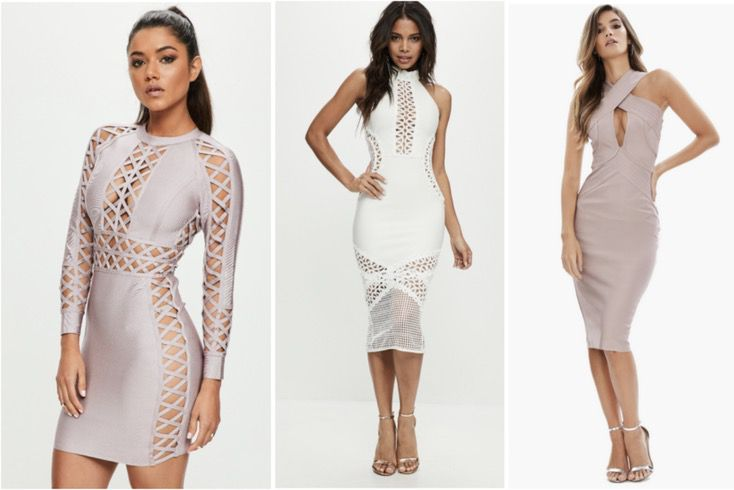 Brands like House of CB / bodycon dress outfit ideas