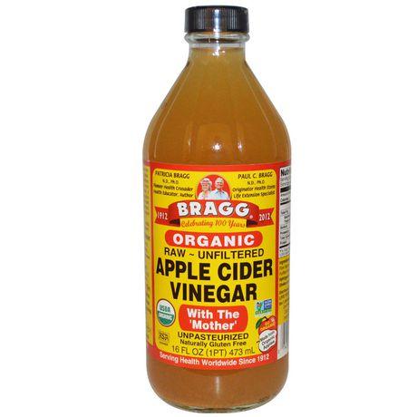 Korean apple cider vinegar rinse