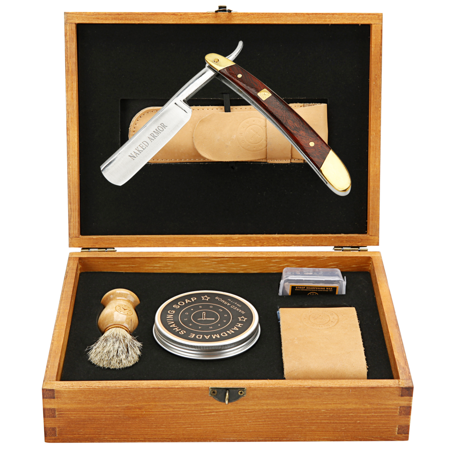 Gifts for guys with expensive taste: Old school shaving kit