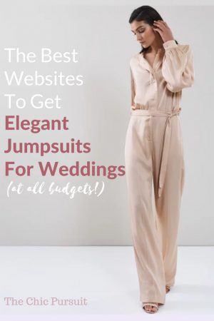 27 Elegant Jumpsuits For Weddings That Make You Stand Out