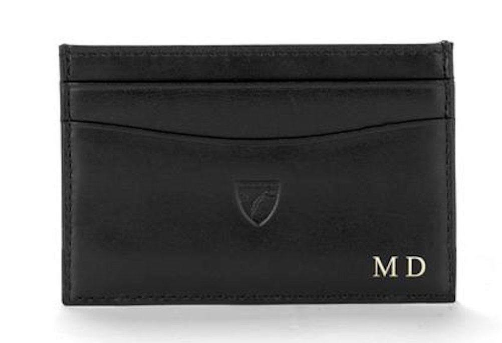 mens gift ideas for birthday: personalised wallet