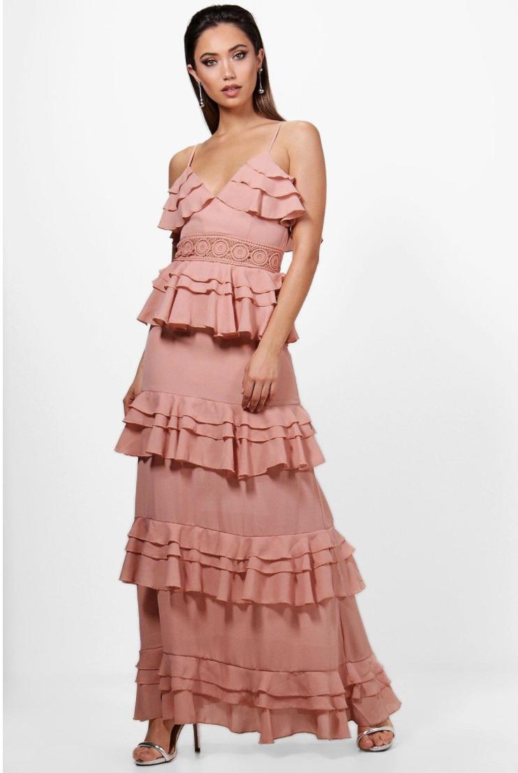 dresses like needle & thread / boohoo boho dress