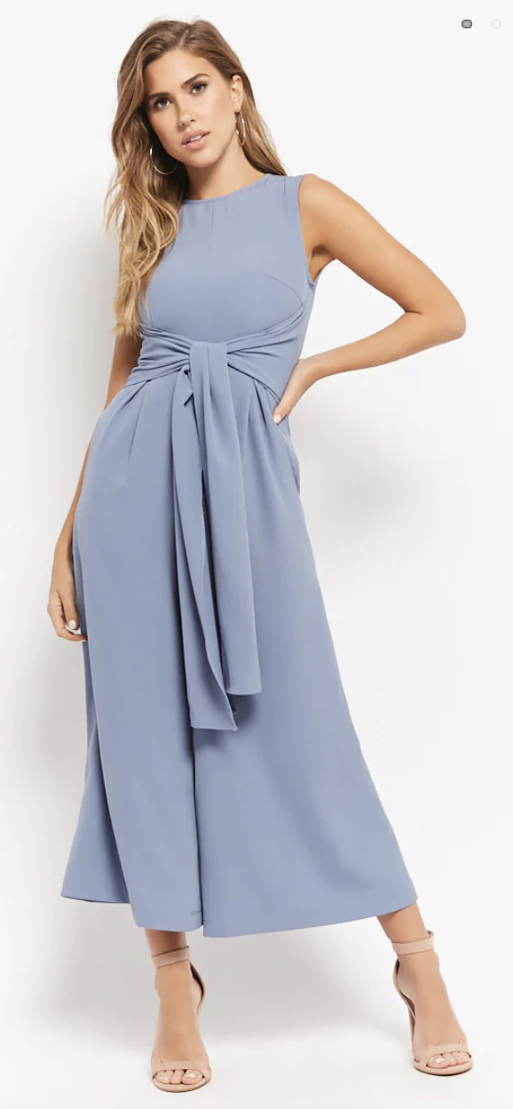 blue jumpsuits for wedding guest