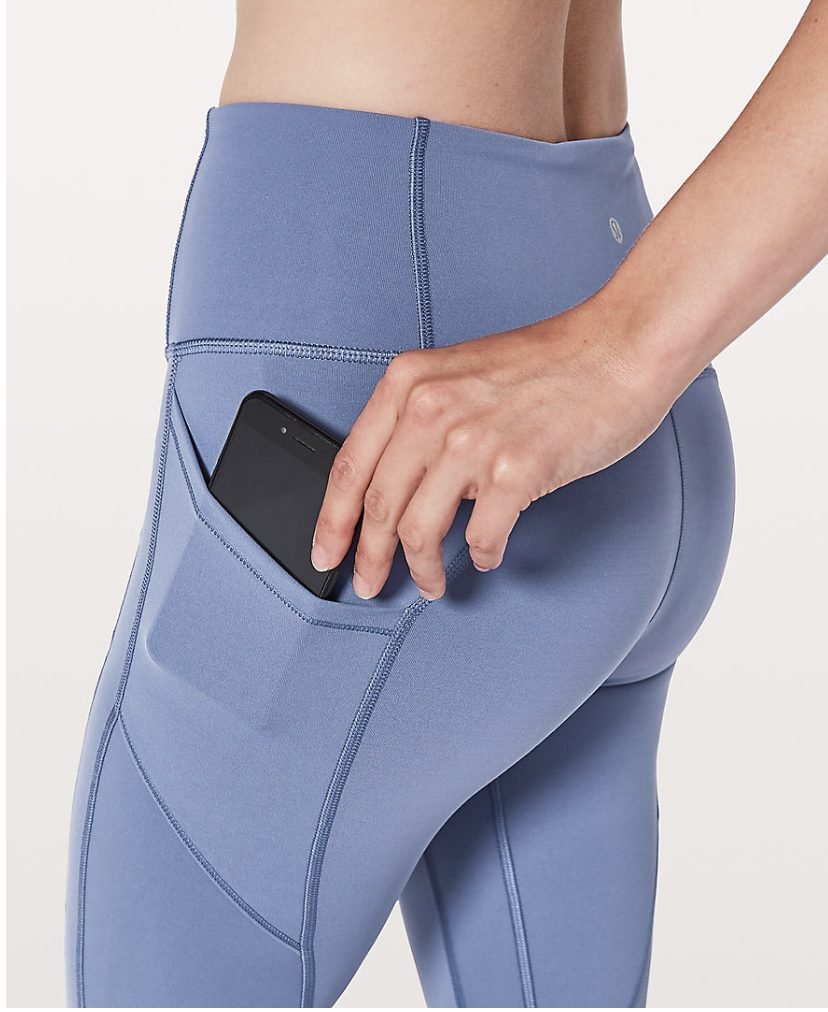 light blue lululemon all the right places pant