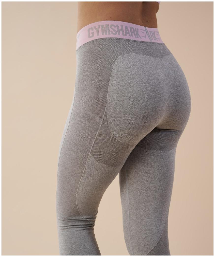 gymshark grey bum enhancing gym leggings