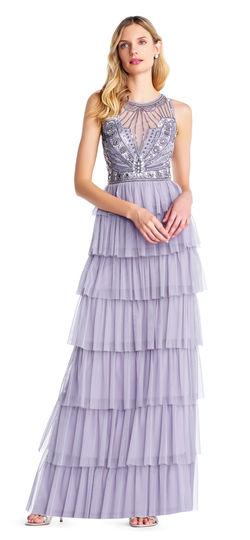 brands like needle & thread / dresses like needle & thread / adrianna poppel tulle dress