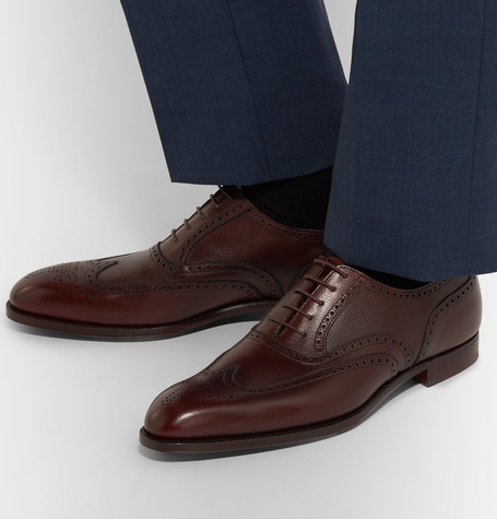 luxury gifts for men who have everything: leather shoes