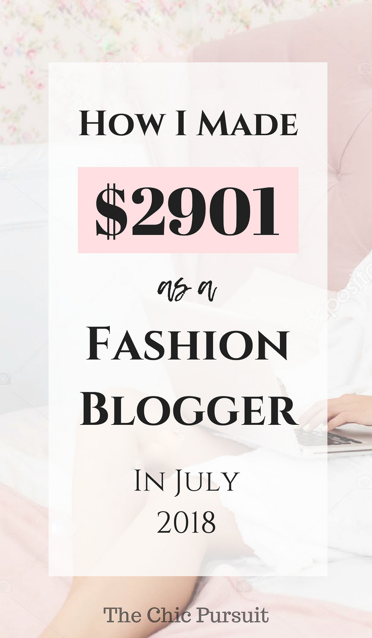 Here's how this fashion blogger earned over $2900 in just one month blogging. This blogging income report will show you everything you need to know about starting a money making blog, what affiliate networks to use and how to be a successful blogger! #howtostartablog #makemoneyblogging #waystomakeextramoney #fashionblogger #incomerepor