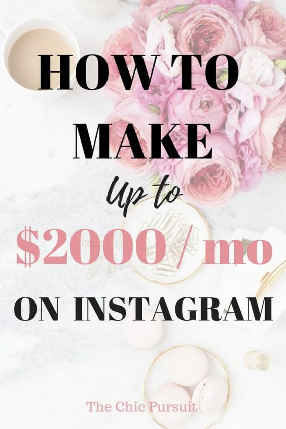 How To Get Paid On Instagram & Work With Brands That You Love