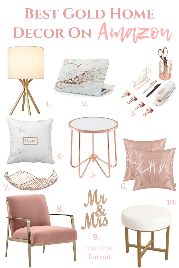 Best Amazon Gold Home Decor Accents