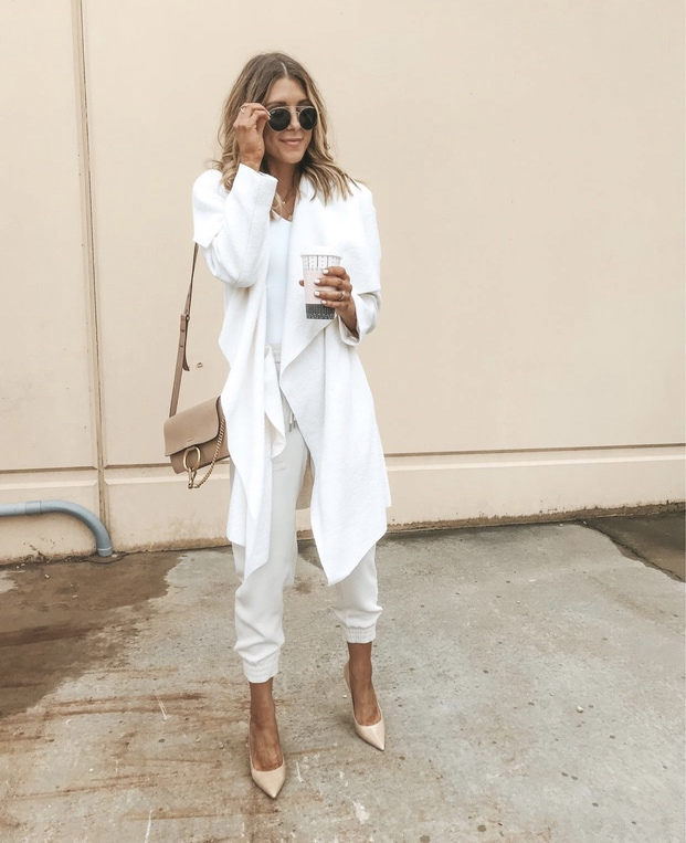 Best all white fall looks with jackets