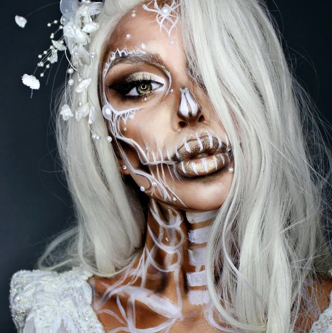 40+ Insanely Pretty Halloween Makeup Ideas That You Need To See