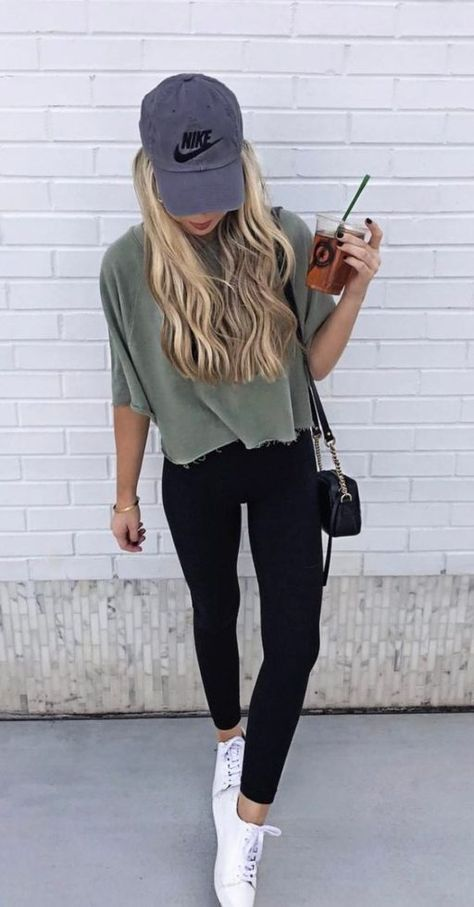 Cute sporty outifts with leggings