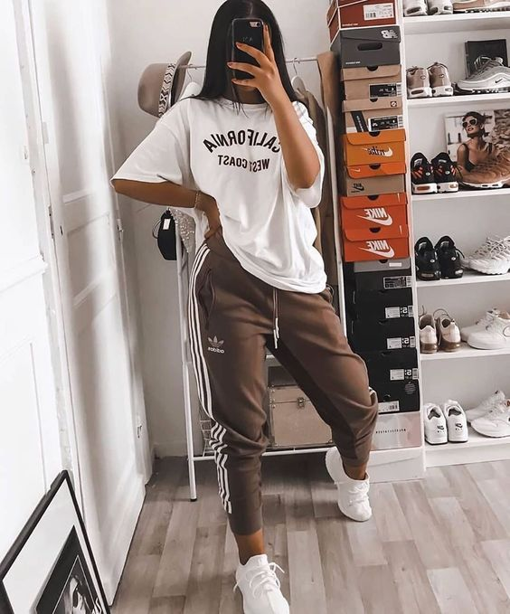 Cute sporty outfits - Adidas outfits