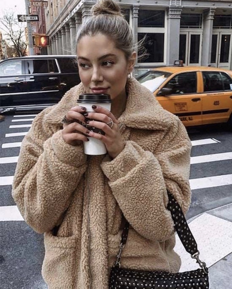 Best teddy coat outfits for fall and winter