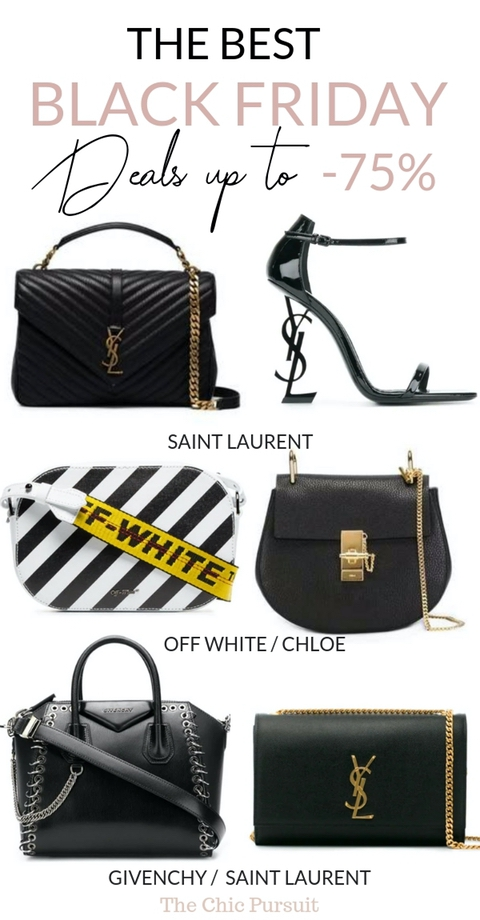 30+ Best Black Friday Deals 2018 Up To -75% Off! - The Ultimate Guide To The Best Black Friday Shopping and Cyber Week Sales, including stores like Nordstrom, J.Crew, Saks Fifth Avenue, Far Fetch, Burberry, Canada Goose, Stuart Weitzman and designer handbags from YSL, Chloe, Off White, Givenchy + many other stores! These are the best online Black Friday tips that you'll find around - bookmark it for later! #blackfriday #blackfridaydeals #sales #cyberweek #designerhandbags
