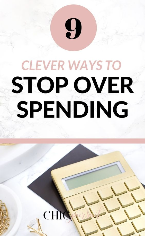 10 Clever Ways To Stop Overspending Now