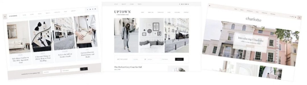 How to become a fashion blogger and how to start a fashion blog with feminine WordPress themes