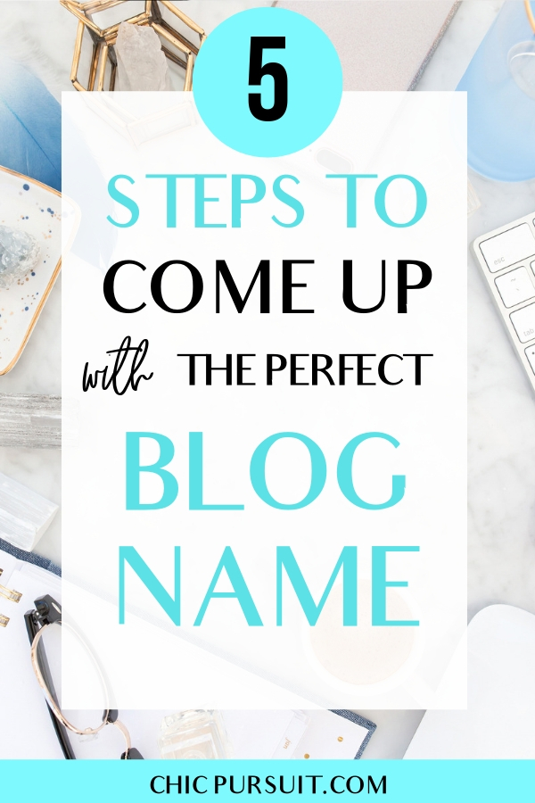 How To Come Up With Blog Name Ideas In 30 Min Or Less