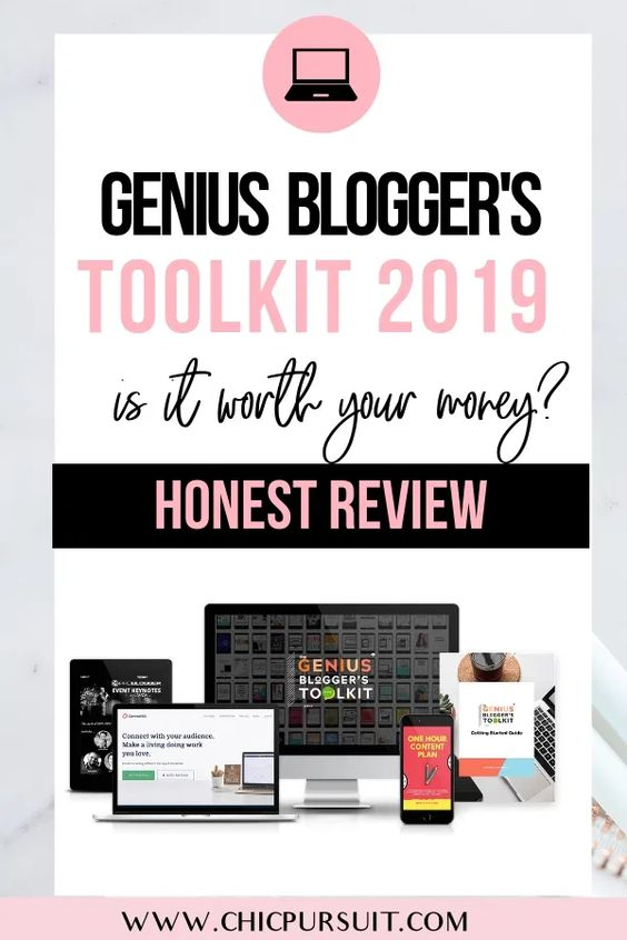 Genius Blogger's Toolkit 2019 Review & Full Product Reveal – $7,395 Worth Of Resources For $97?!