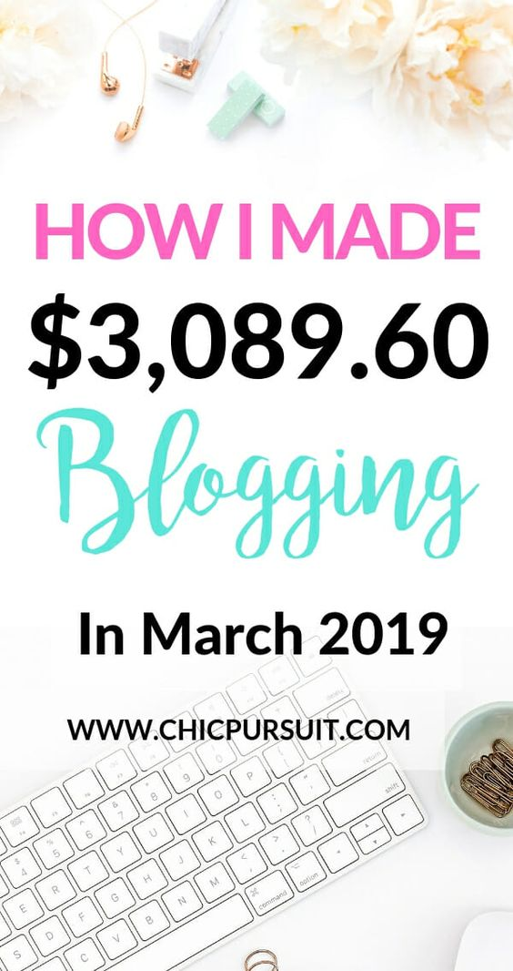 How I Made $3,089.60 In March As A Fashion Blogger