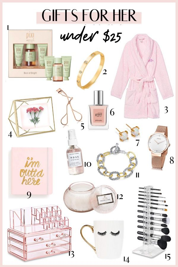 Best affordable Christmas gifts for her