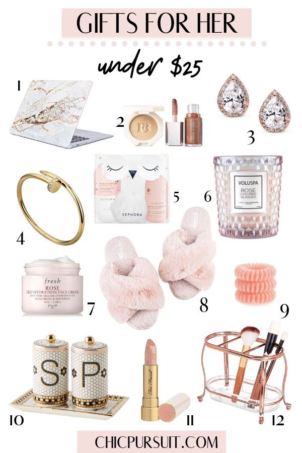 The Best Affordable Luxury Gifts For Her Under $25 In 2021