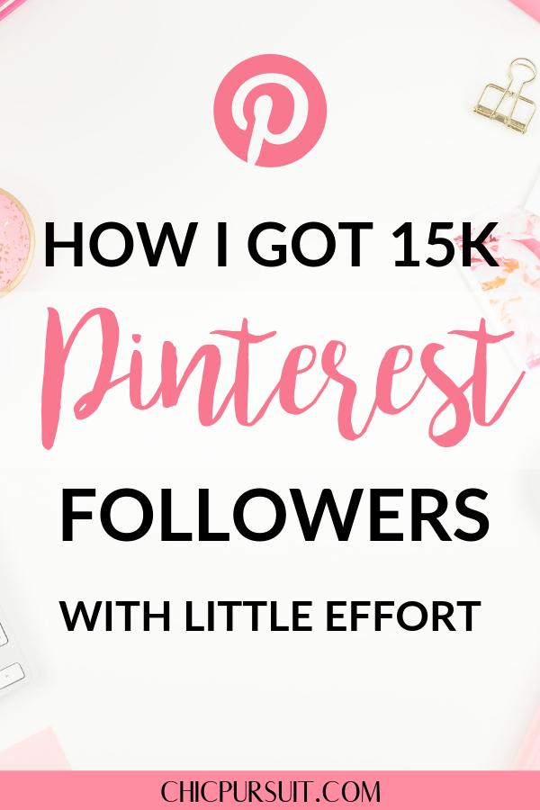 7 Surefire Ways To Get Pinterest Followers With Little Effort (in 2019!)