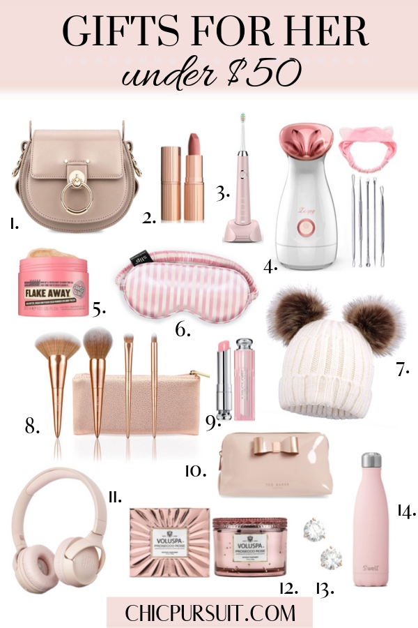 The best gifts for women under $50 and affordable gifts for her under $50