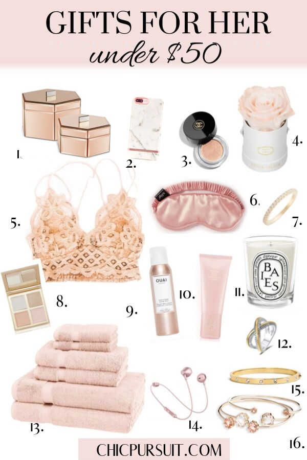 The Best Gifts For Women Under $50 | Affordable Gift Ideas
