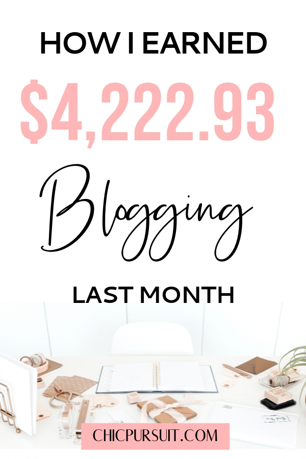 How I Made $4,222.93 Blogging In September | Blog Income Report