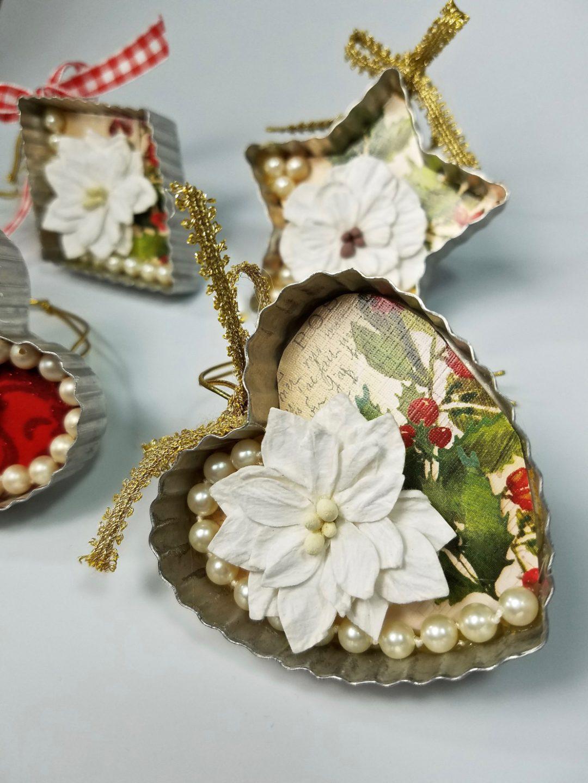 Easy DIY Vintage Christmas Ornaments