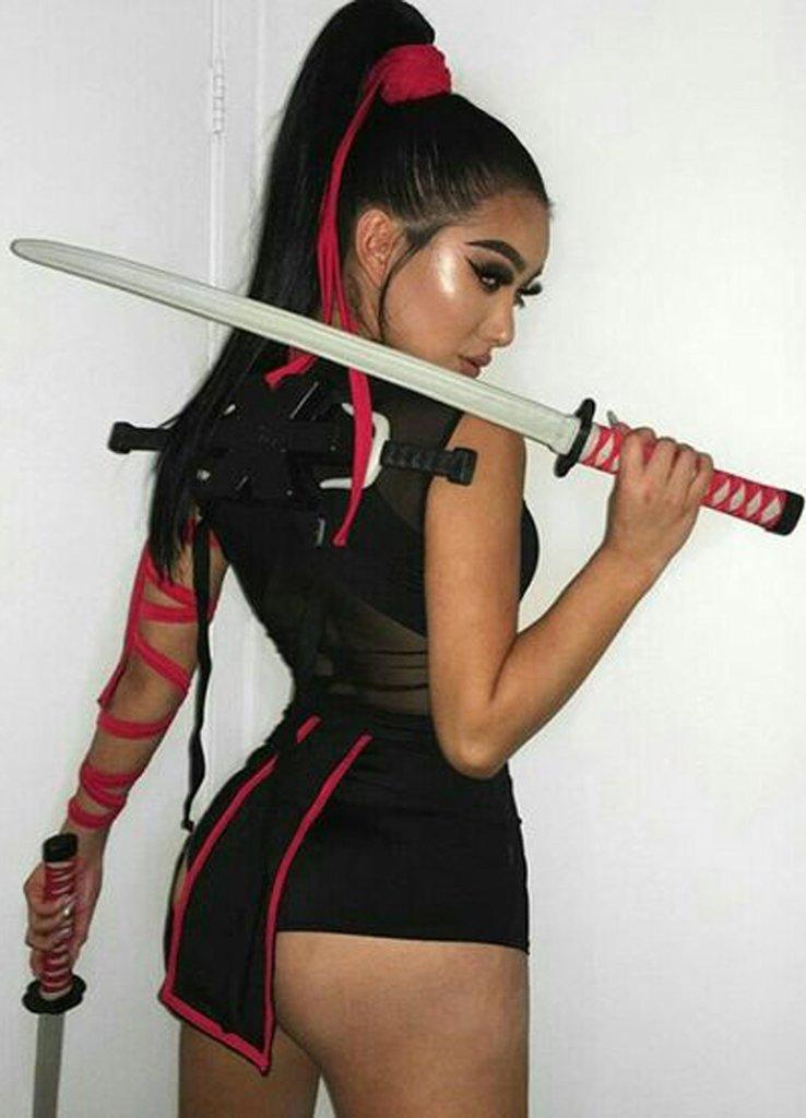 Hot Ninja Halloween Costume women - cute Halloween costumes for women