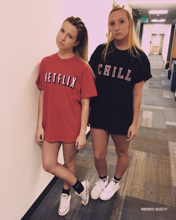 Easy Netflix and Chill Halloween costume