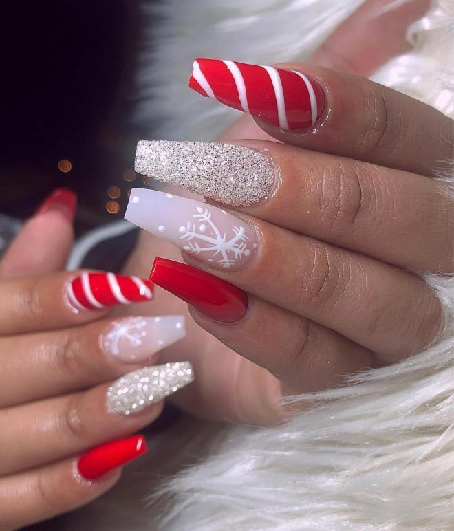50+ Festive Christmas Nail Designs Perfect For The Holidays