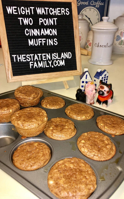Weight Watchers Desserts: 2 Point Cinnamon Muffins