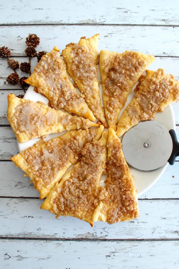 Weight Watchers Cinnamon Sugar Pizza Dessert
