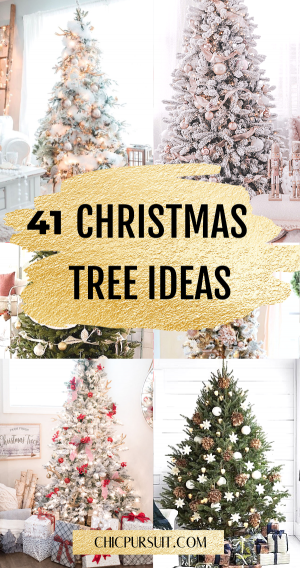 40+ Stunning Christmas Tree Ideas Your Family Will Love