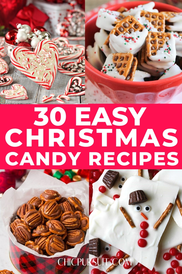 30 Easy Homemade Christmas Candy Recipes Your Kids Will Love
