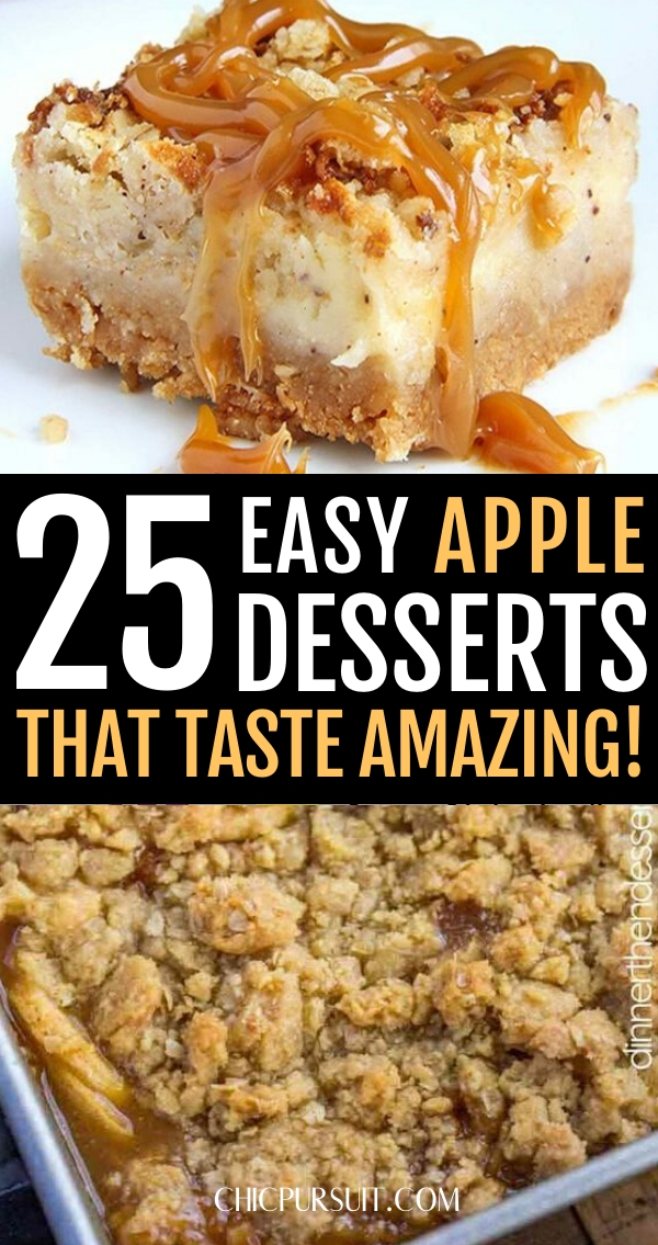 25 Easy Apple Desserts That Your Whole Family Will Love