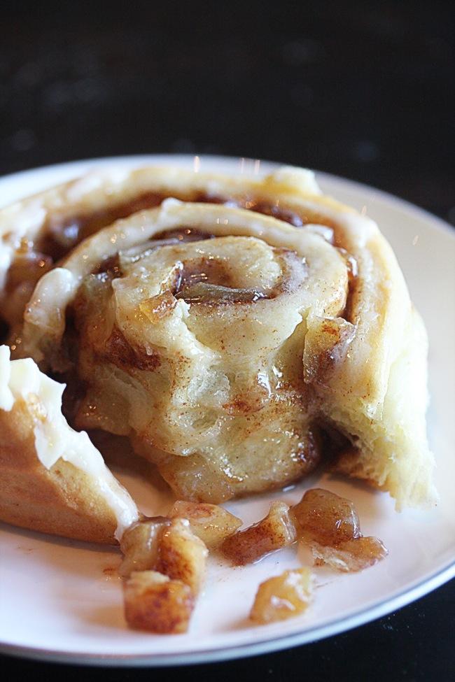Easy apple desserts: Apple Pie Cinnamon Rolls