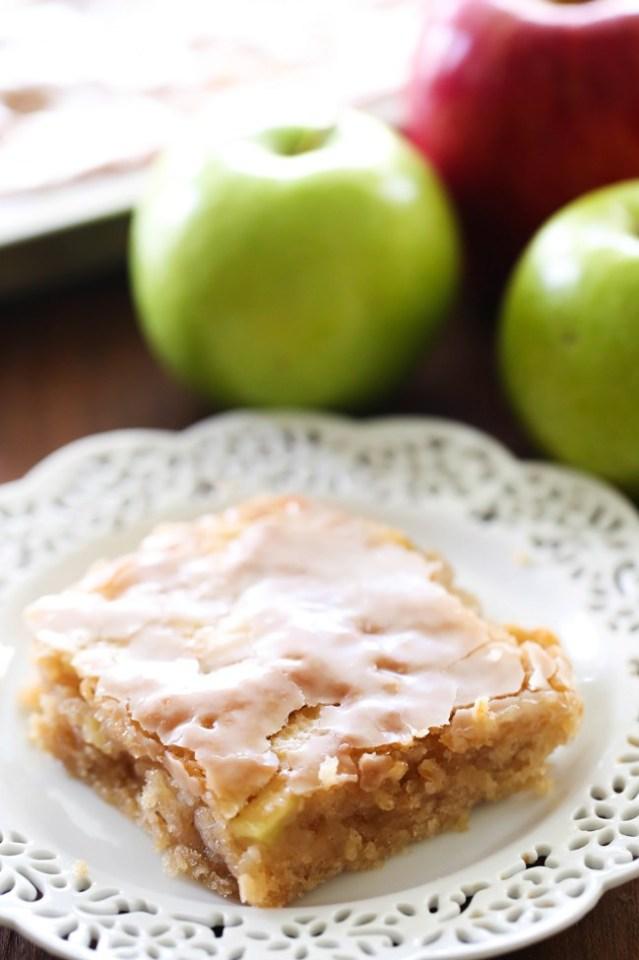 Easy apple desserts: Caramel Apple Sheet Cake