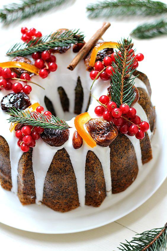 Poppy Seed Citrus Cake Idea