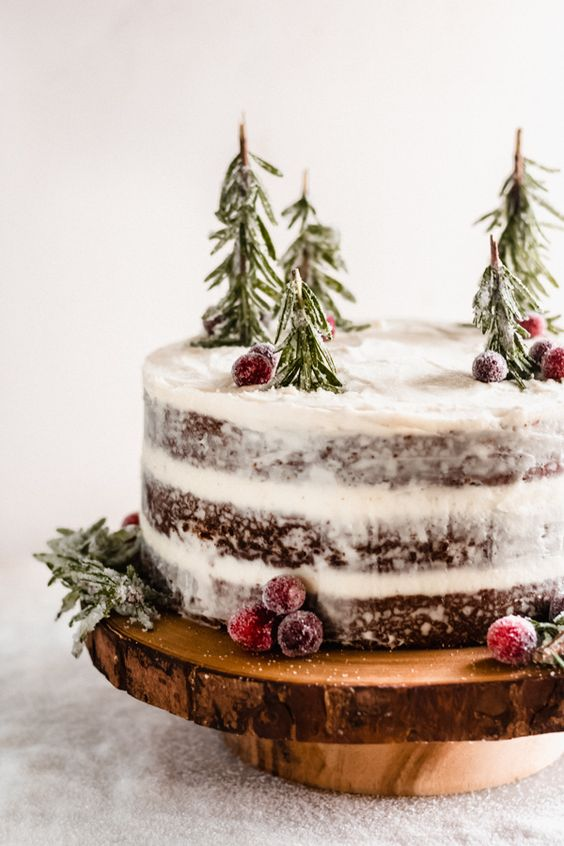 Gingerbread Cake With Mascarpone Cream Cheese Frosting
