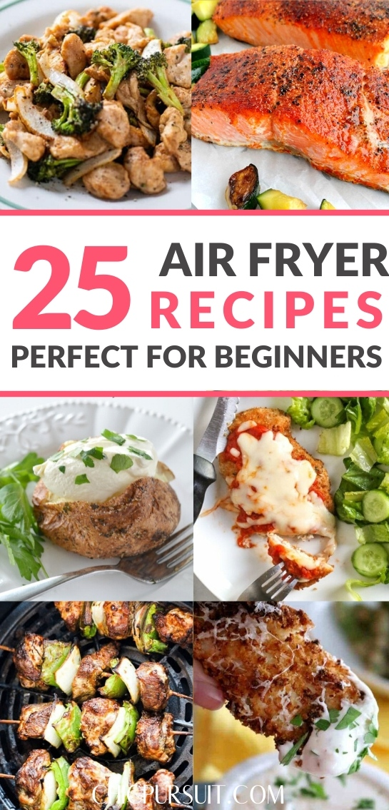 The best easy healthy air fryer recipes for beginners